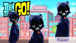 Teen Titans Go - Raven Doll My Little Pony Equestria Girls Minis Custom Tutorial