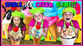 How To Make Edible Ice Cream Slime - Diy