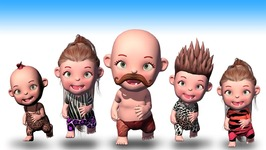Ooga Chaka Baby Fights Pirates Finger Family - Crazy 3D Animation Nursery Rhymes for Children