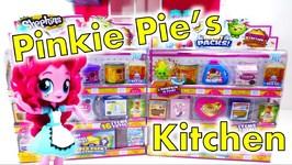 Shopkins Mini Packs In Pinkie Pies Kitchen - Shopkins Season 10