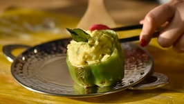 Stuffed Capsicum - Peppers - Homemade Starter - Party Appetizer