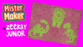 Purple Dinosaurs - Mister Maker's Arty Party