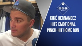 Kiké Hernandez Hits Emotional Pinch-Hit Home Run
