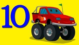 Ten Little Monster Trucks