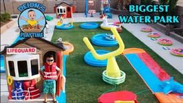 BIGGEST WATER PARK - DEION'S PLAYTIME