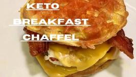 Keto Breakfast Chaffle