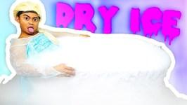 EXTREME DRY ICE BATH CHALLENGE