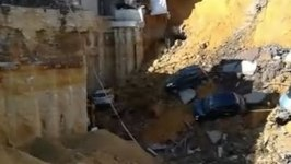 Construction Site Collapses in Rome