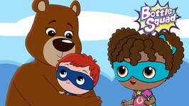 A Bear Balancing Act - Superhero - Baby Cartoons - Bottle Squad