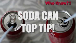 My Soda Can Top Aha Moment - Who Knew  Quick Tip