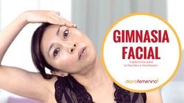 Gimnasia facial para flacidez e hinchazón