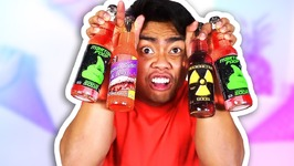 GUAVA JUICE TRIES WEIRD SODAS - EXTREME NASTY