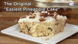The Original Easiest Pineapple Cake