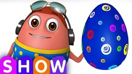 Learn BLUE Colour with Johny Johny Yes Papa  Surprise Eggs Colours Ball Pit Show  ChuChuTV 3D Fun