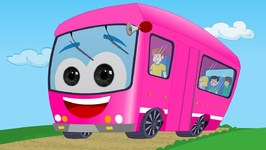 Wheels on the bus - Pink Bus