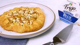 Apple Galette With Blue Cheese, Almonds And Honey