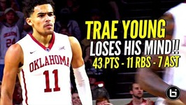Steph Curry... I Mean Trae Young COLD BLOODED 43 Points and Damn Near Triple Double vs TCU!
