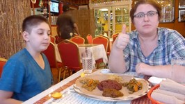 We're trying Ethiopian Food For The First Time -Eating Show