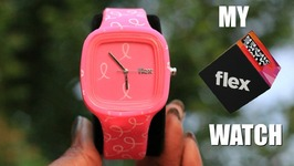 Flex Watches - Pink Breast Cancer Awareness