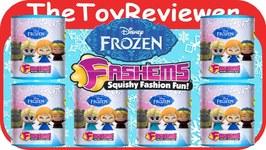 Disney Frozen Fash'ems Random 6 Blind Surprise Pack Unboxing