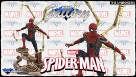 Marvel Avengers Infinity War Movie Spiderman PVC Gallery Figure by Diamond Select Toys
