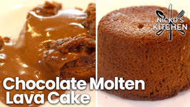 Chocolate Molten Lava Cake / Baked in the Air Fryer