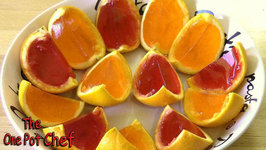Orange Wedge Jello Shots