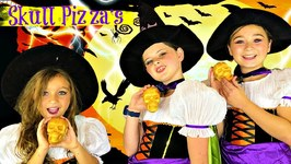 Halloween Recipes  DIY Easy Halloween Pizza Skulls Recipe ?? So Yummy!