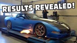 I Dyno My Corvette And Put It On The Scales Before AEM Install