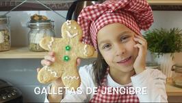 Galletas De Jengibre / Cocina Para Ninos / Recetas Para Ninos / Cocina Con Ninos / Ninos Cocinando