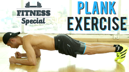 How To Do A Plank Exercise For Core Strength - Fitness Special Workout
