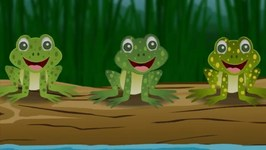 Five Little Speckled Frogs Song