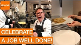 Chef With Down Syndrome Lands Pancake Flip
