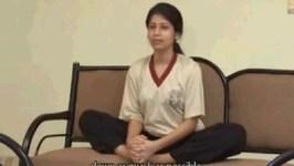 Yoga Asanas - Vajrasana And Baddhakona Asana - Strengthens The Spine