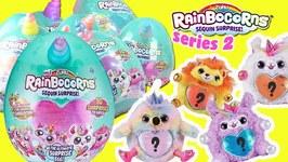 Rainbocorns Series 2 Sequin Surprise Opening! Unicorn, llama Toy Plushy