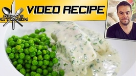 Fish In Parsley Sauce - Classic British Dish