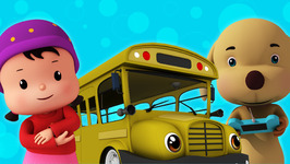 Wheels on the Bus  Children's Popular Nursery Rhymes Meeko Dance Rhymes