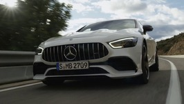 The All New Mercedes-AMG GT 53 4MATIC  4-Door Coupe Driving Video