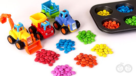 Colors With Vehicles - Fun Learning For Kids