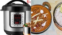 One Pot Dal Makhani- In Electric Cooker