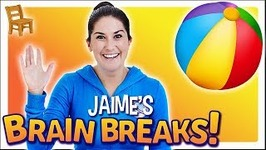 Jaime's Brain Breaks -  9 - Sit and Stretch