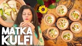 Matka Kulfi - Cashew Pistachio Almond Ice Cream - Kravings