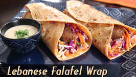 Lebanese Falafel Wrap  Easy To Make Wrap Recipe  Ruchi Unboxes With Bajaj Electricals