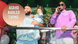 DJ Khaled Threw His Baby A Wild 1st Birthday Party