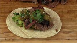 Smoked Goat Street Tacos -Cabrito Tacos