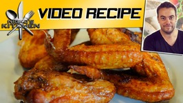How To Make Sticky Chicken Wings