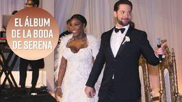 Vogue publica las fotos de la boda de Serena Williams