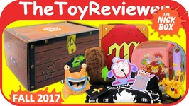 Fall 2017 The Nick Box Treasures Nickelodeon 90s Subscription Unboxing Toy Review