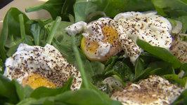 Allen's Poached Egg Salad