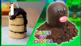 Diglett - Pokemon Cake - How To